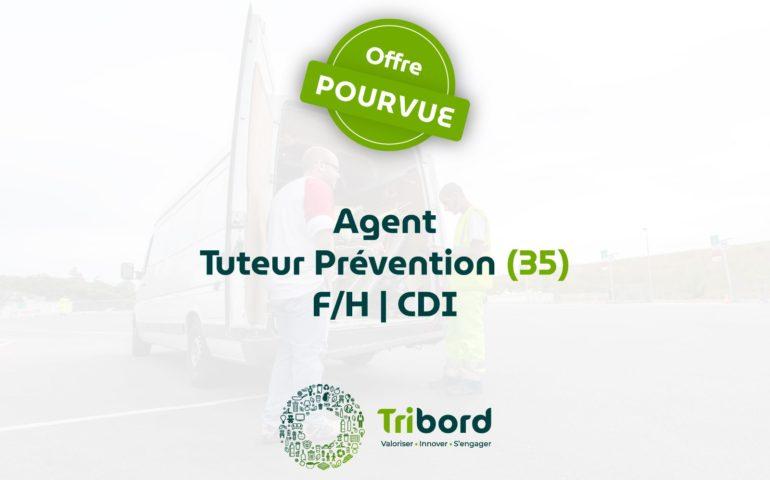 Offre d'emploi Agent Tuteur Prévention pourvue Tribord