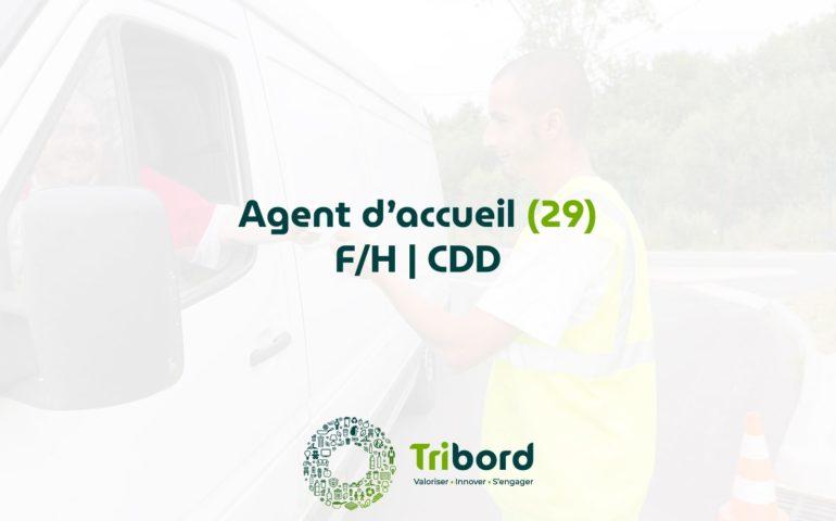 Offre d'emploi Agent d'Accueil pourvue Tribord