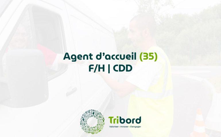 Offre d'emploi Agent d'Accueil 35 Tribord