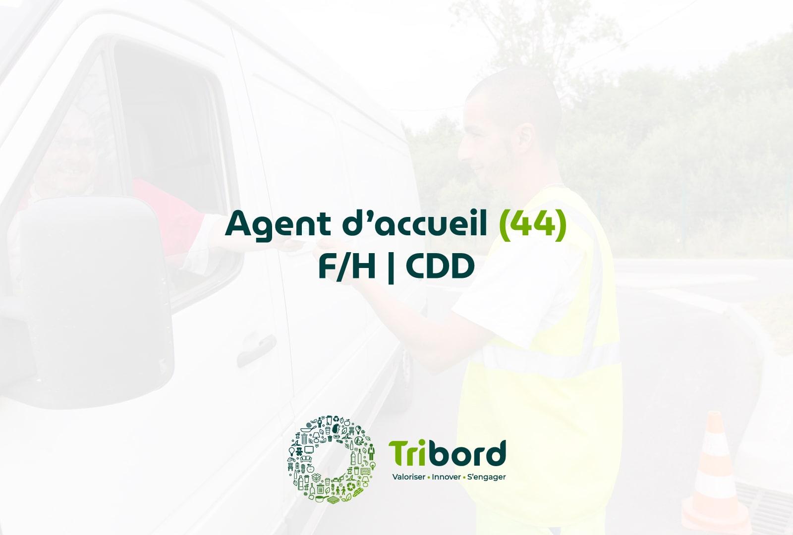 Offre d'emploi Agent d'accueil 44 Tribord