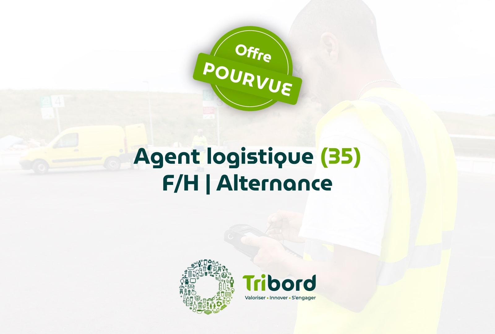 Offre Assistant logistique (35) En alternance pourvue