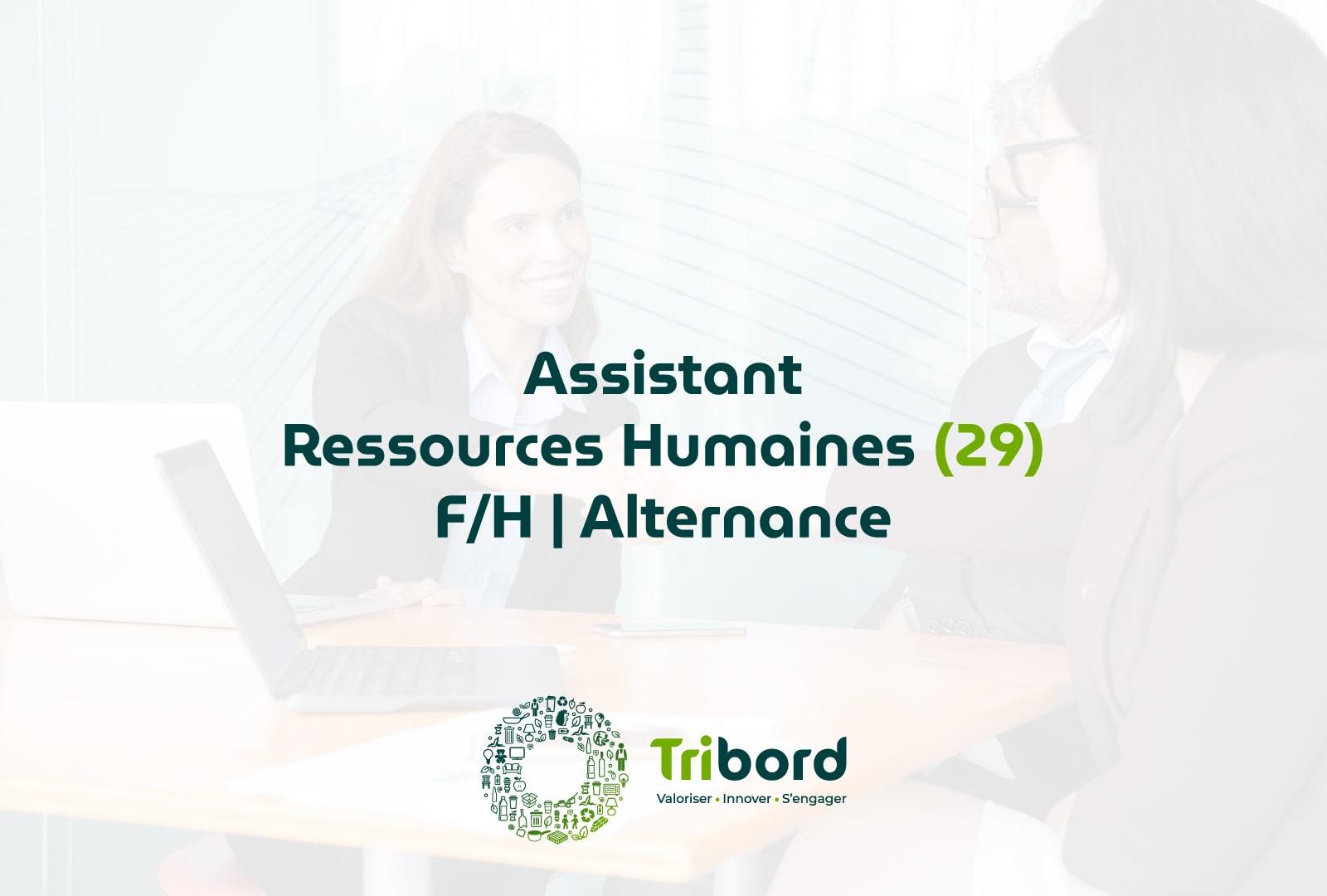 Offre Assistant RH en alternance (29)