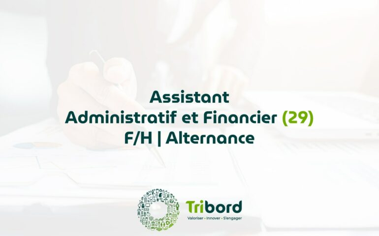 Offre Assistant Administratif et financier en Alternance (29)